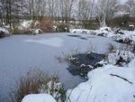 Der See ist gefroren